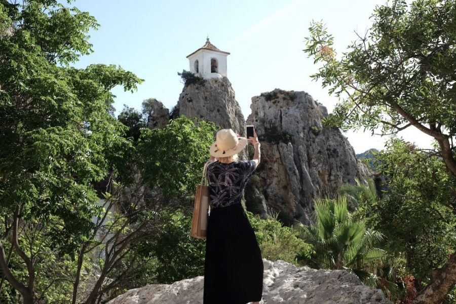 cecile blogueuse blogtrip asia garden guadalest