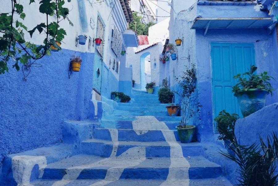 bleu-Chefchaouen-Maroc