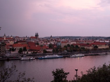 prague-republique-tcheque-sunset