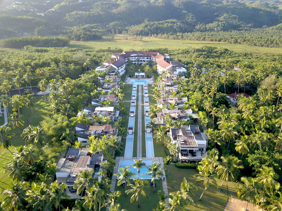 vue drone hotel sublime samana
