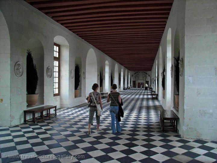 Pictures Of France Loire 0002 Chenonceau Castle Interior