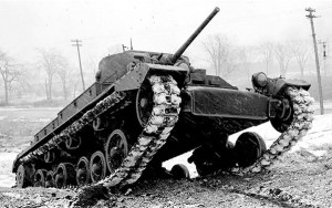 Tanks were major esset in WWII