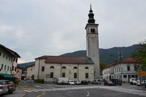 Center of Kobarid