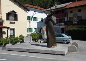 Monument of Simon Gregorčič