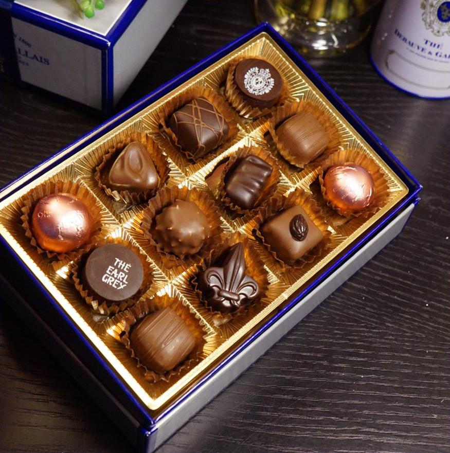 Maison Debauve e Gallais chocolate Paris