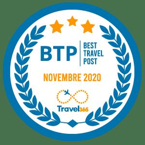 Badge BTP Novembre 2020