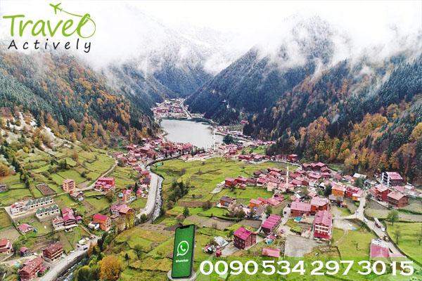 فنادق قرية اوزنجول   Uzungol Hotel   uzungöl Otel