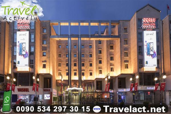 فندق وسط المدينة زورلرو جراند طرابزون  Zorlu Grand Hotel Trabzon