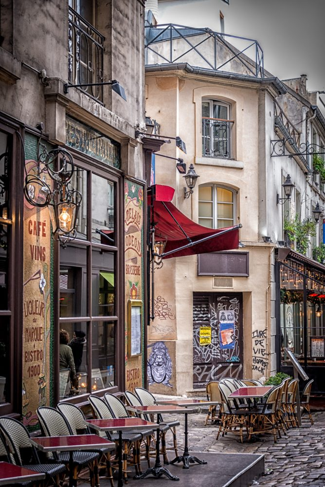 I learned that the Bistro Scene in Paris is just amazing.