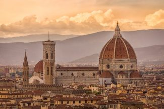The Duomo from Piazzale Michelangelo