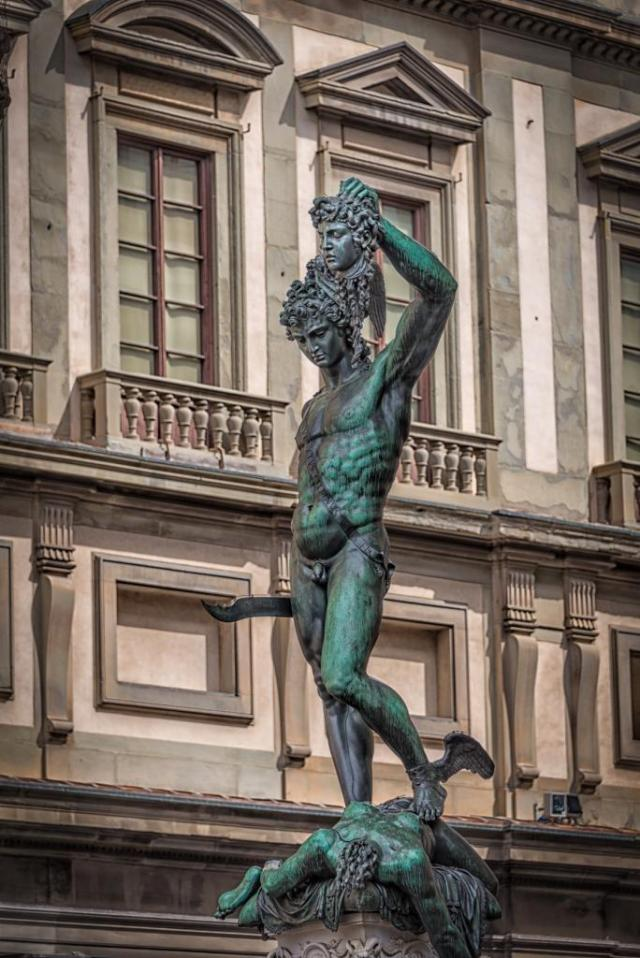 Benvenuto Cellini's Perseus