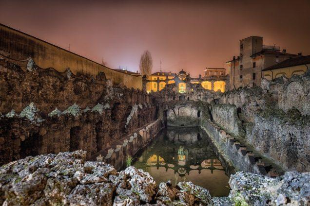 Sassuolo, the old fountain