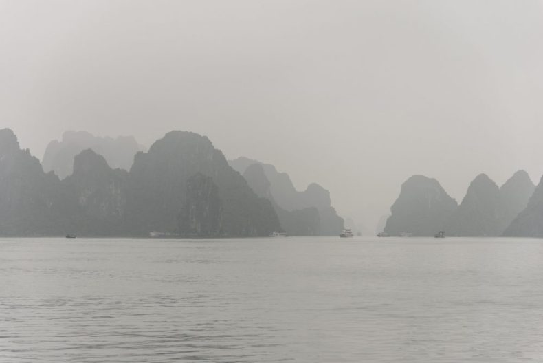 Misty Ha Long Bay taken on our asian cruise