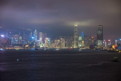 Hong Kong from Victoria Harbour Cruise Port - Repositioning to Singapore