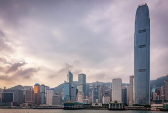 Hong Kong from Vicoria Harbour