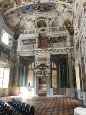 Salone dei corazzieri in the palace