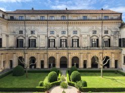 Courtyard of the Palazzo Ducale, Mantua