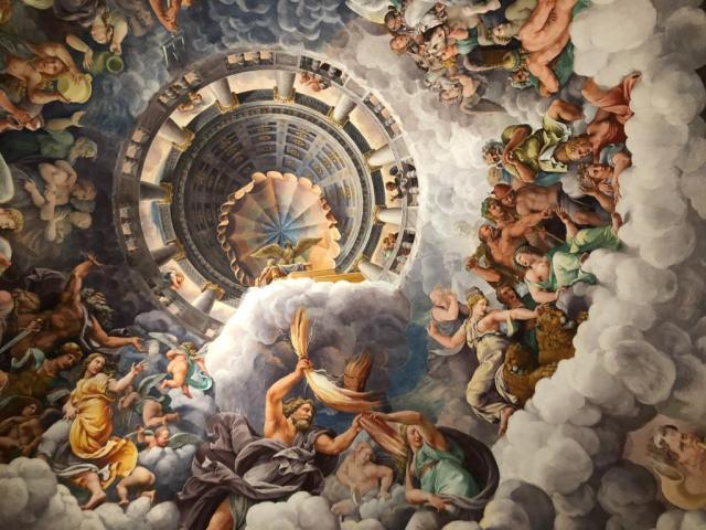 Room of the Giants, Palazzo Te, Mantua