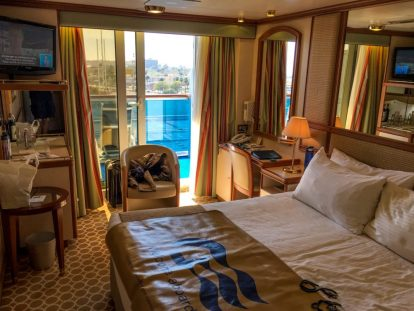 You Can Possibly Get an Upgrade to a Balcony Cabin by booking an Oceanview Room on your Cruise