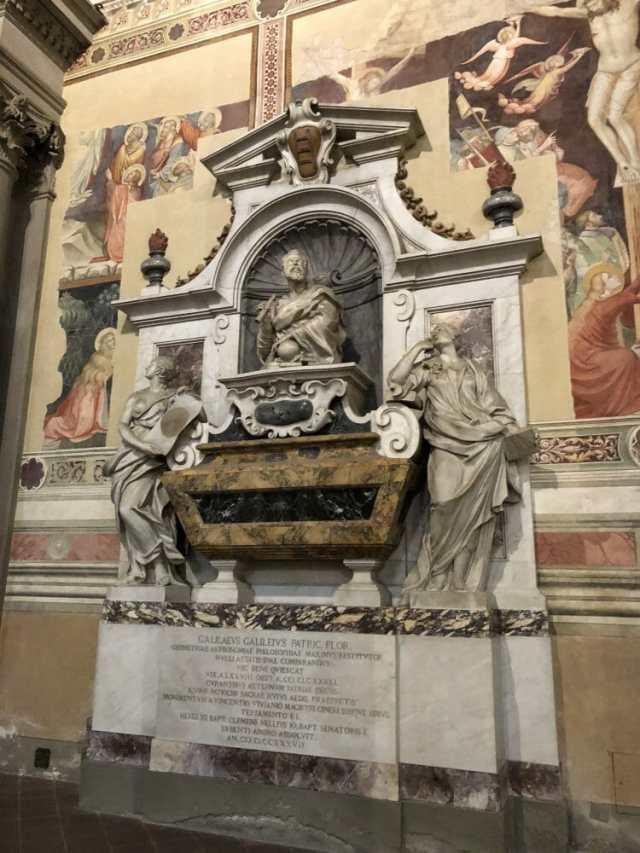 Santa Croce, Galileo's Tomb