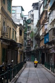 A street in Macau taken just before our cruise to asia