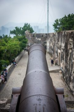 Forte in Macau taken just before our cruise to asia