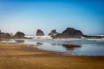 Long Walks along the beach at Ecola State Park