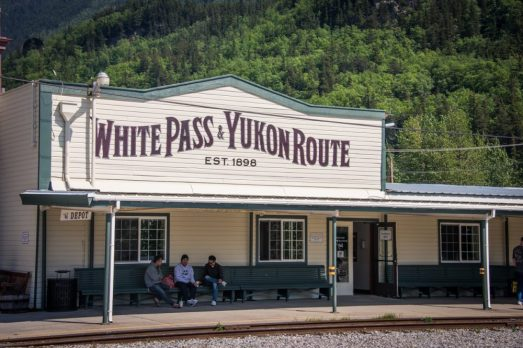 The old station in Skagway