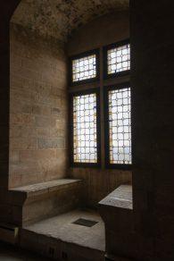 Pope Palace windows