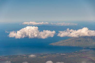 The view from Haleakala summit