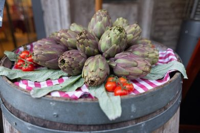 Artichokes are one of the staple foods of Rome