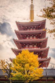 The Pagoda at Sensō-ji Temple