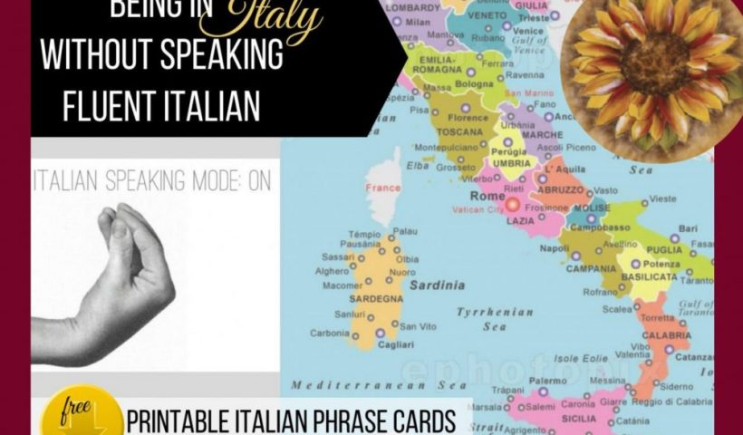 Our Italian Journey, Being in Italy without speaking fluent Italian