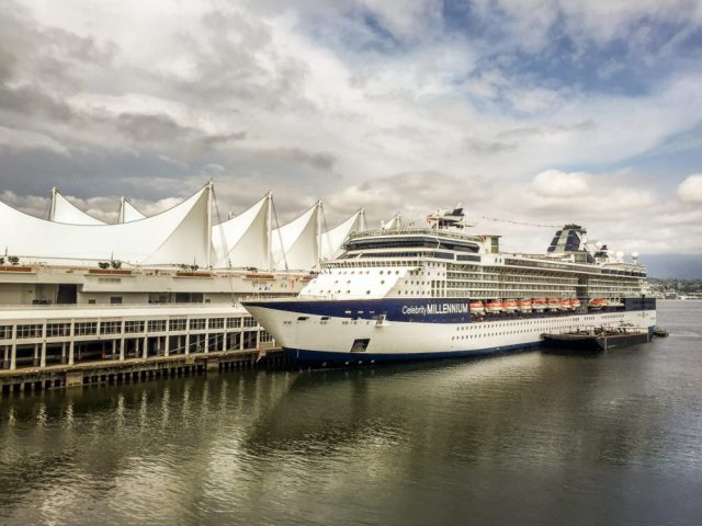 Celebrity Cruise Ship - Port of Vancouver - Home to Many excursions