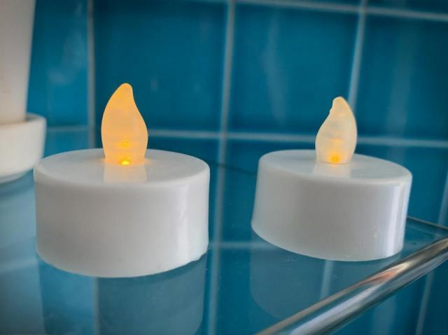 Dollar Store Tea lights - Take These On The Cruise!