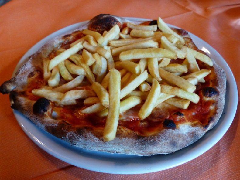 Non Traditional Pizza