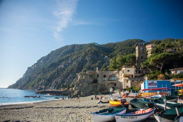 The Beach in Monterosso, Cinque Terre