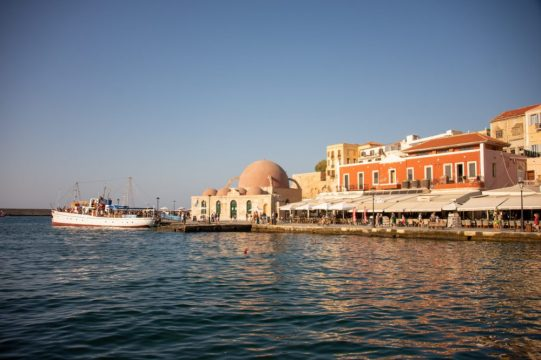 The old port of Chania - A Charming Mediterranean port - Arrived On the Emerald Princess cruise ship