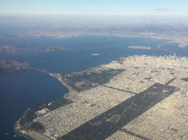 Flight, San Francisco, Plane