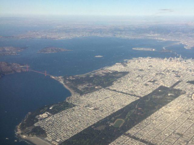 Flight, San Francisco, Plane