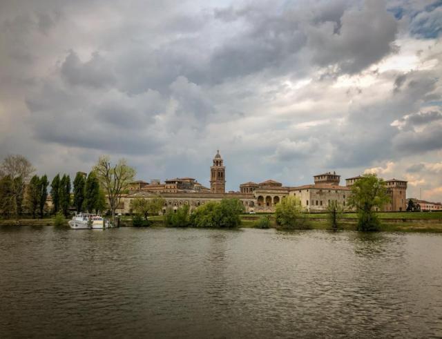 Mantova, Mantua, Lake of Mantua, river Cruise