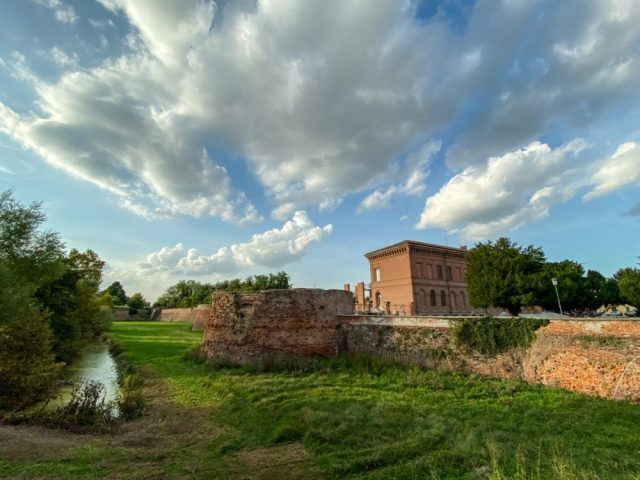 City Walls, Sabbioneta, Italy