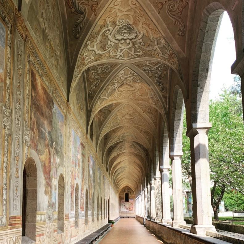 The Santa Chiara Cloister