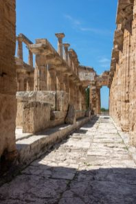 The Temple of Neptune inside