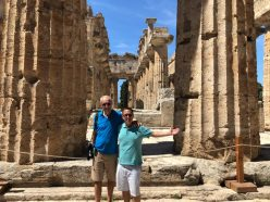 Inside the temple of Neptune