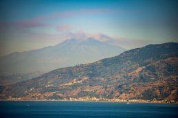 Volcano: Mount Etna smoking