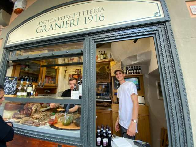 Antica Porchetteria Granieri 1916 - A must see street food experience in Florence, Italy