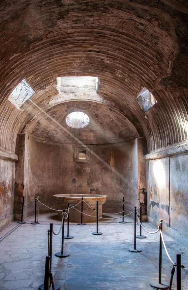 Pompeii Terme del Foro, The Forum baths