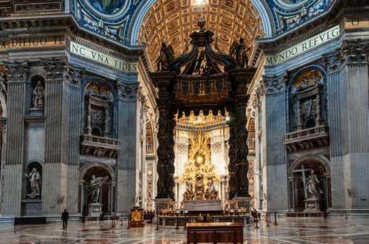 Saint Peter Basilica main altar