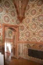 Frescoed room at Vignola Castle